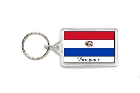Amazon.com: Souvenir Bandera de Paraguay Paraguayo acrílico ...