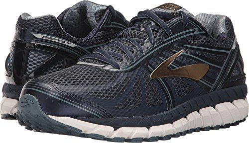 Brooks Men's Beast '16 Peacoat Navy/China Blue/Gold 11.5 EEEE US