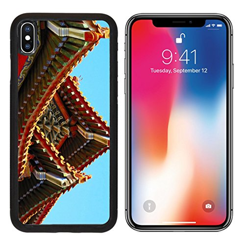 MSD Premium Apple iPhone X Aluminum Backplate Bumper Snap Case IMAGE ID: 3321335 Chinese traditional construction part
