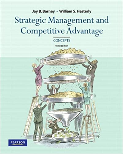 Amazon strategic management and competitive advantage strategic management and competitive advantage concepts 3rd edition 3rd edition fandeluxe Image collections