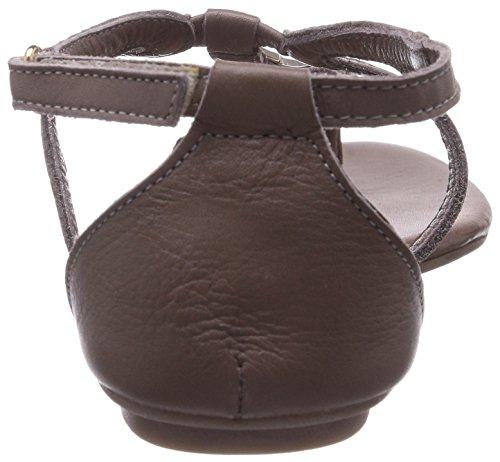 Tamaris 28157 - Sandalias de cuero para mujer gris - Grau (Grey 200)