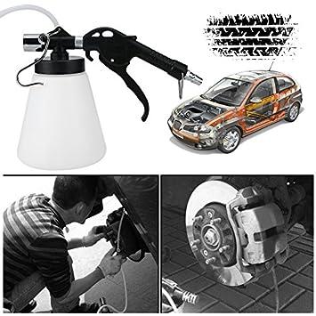 87-174psi 0.75L freno de aire purgador de aire botella de líquido de embrague de freno neumático (Color: transparente): Amazon.es: Coche y moto