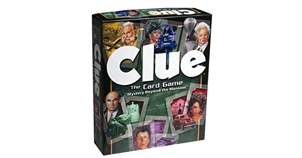 Amazon.com: Clue el Juego de cartas: Toys & Games