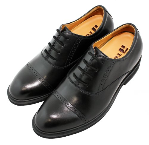 TOTO - X60021 - 2.6 Inches Taller - Height Increasing Elevator Shoes (Black Lace Up) gH8OKNRB