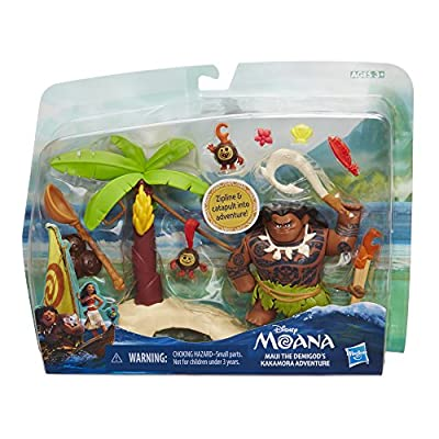 Disney Moana Maui the Demigod's Kakamora Adventure: Toys & Games