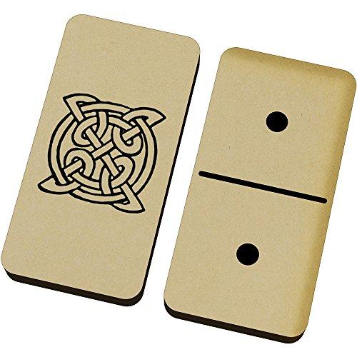 [해외]Azeeda `Celtic Symbol` Domino Set & Box (DM00014104) / Azeeda `Celtic Symbol` Domino Set & Box (DM00014104)