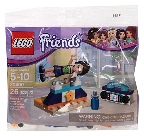 Review LEGO Friends Gymnastics PolyBagged