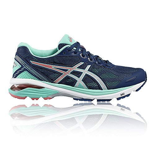 Asics UK Running 1000 5 Gt Pink 9 Blue Shoes 5 Women's ZwZCqzr4