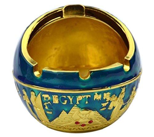 Ash blauw sigaretten Ash Xqqq Home buitenshuis rokers Office Desktop Asbak 1411 gebruik Tray goud Holder binnenshuis voor of gTFPxHqwn