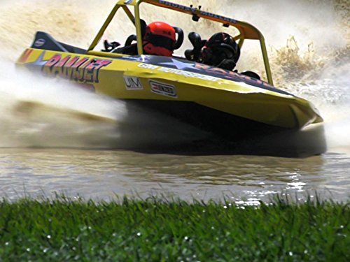Racing Boat Sprint (2016 Jetsprint World Finals Round 1 Meremere Superboats)