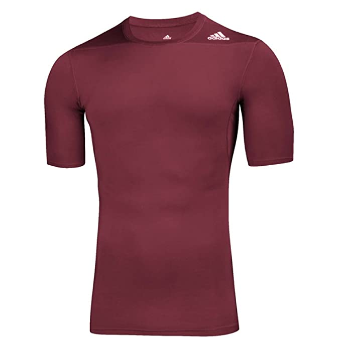 5797446ea6 adidas Techfit Mens Short Sleeve Training Top