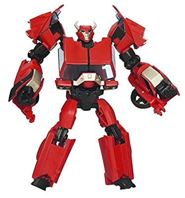 Transformers Prime, Deluxe Class Action Figure, Cliffjumper (First Edition)