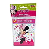 Minnie Mouse Invitations, 8ct