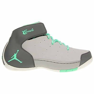 competitive price d1a40 5af20 Jordan Men s Melo 1.5, Wolf Grey Green Glow-Cool Grey-Metallic Bronze, 14 M  US  Amazon.ca  Shoes   Handbags