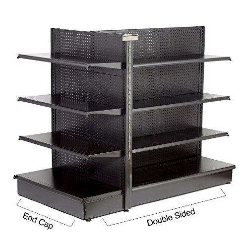 Gondola Shelving (Mid-Atlantic Store Fixtures Gondola End Caps – 6