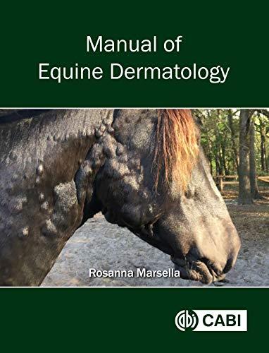Manual of Equine Dermatology por R. Marsella