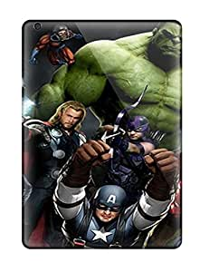 Ipad Air Hybrid Tpu Case Cover Silicon Bumper The Avengers 72