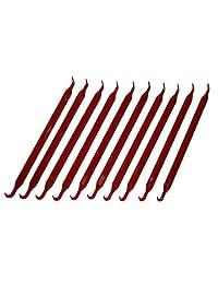 (10 unidades) Deluxe Herramienta Junta Tórica Pick Plástico ABS (no raya) [P/N: opick-abs]