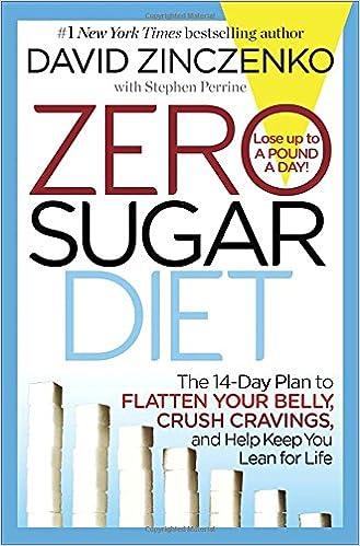 Zero Sugar Diet: The 14-Day Plan to Flatten Your Belly, Crush ...