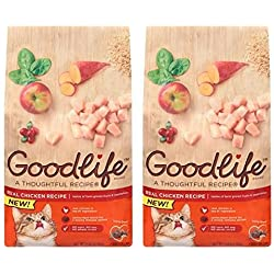 Goodlife Real Chicken Recipe Dry Cat Food 7 lbs. Bag (2 pack)