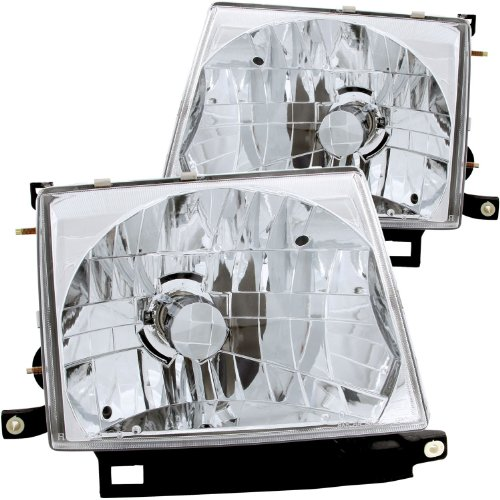 Anzo USA 121132 Toyota Tacoma Crystal Chrome Headlight Assembly - (Sold in - Crystal Anzo 98 Headlights