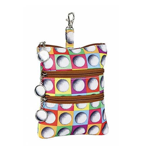 sydney-love-sport-on-the-ball-print-clip-on-zip-pouch-golf-balls-multi