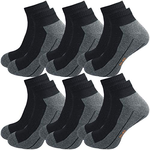 GAWILO Sport Sneaker Socken (6er-Pack)