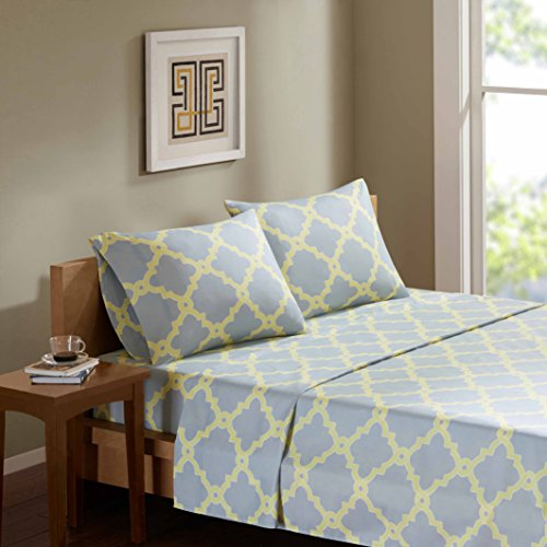 Comfort Spaces Microfiber pattern Yellow Grey product image