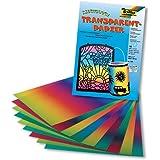 folia Regenbogenpapier 22,5x32 cm 10 Blatt