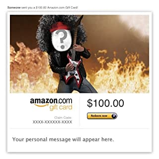 Amazon Video Gift Card - E-mail - Rocker Birthday (B009I1ZRN2) | Amazon price tracker / tracking, Amazon price history charts, Amazon price watches, Amazon price drop alerts
