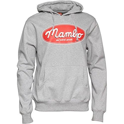 Para hombre Logo Oval Mambo sudadera con capucha gris de tipos duros reloj para hombre: Amazon.es: Ropa y accesorios