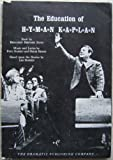 img - for The Education of Hyman Kaplan: A Musical Play in Two Acts book / textbook / text book