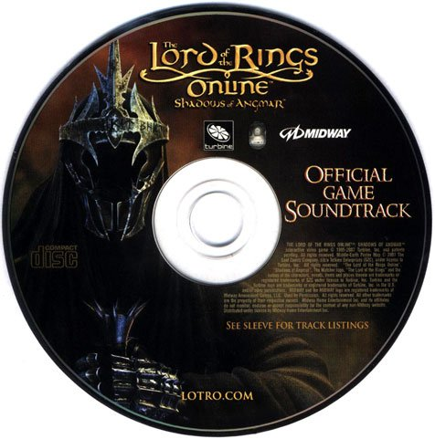The Lord of the Rings Online: Shadows of Angmar Official Game Soundtrack