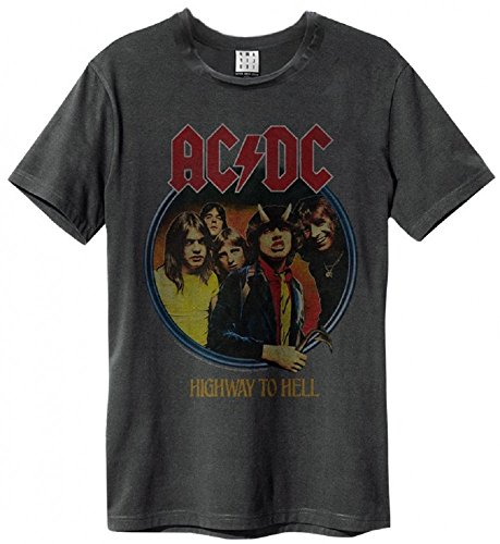 To Hell Ac T shirt dc Highway Amplified Gris CgRwSFqxH