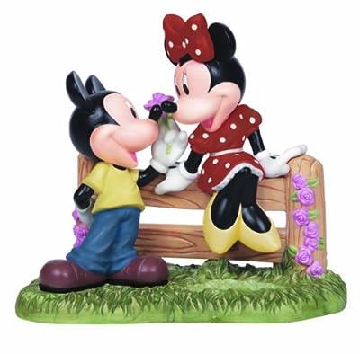 Precious Moments, Disney Showcase Collection, Our Love Has No Boundaries, Bisque Porcelain Figurine, 141701