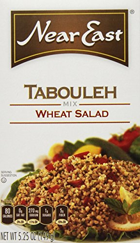 Near East Tabouleh Wheat Salad Mix, 5.25oz Box