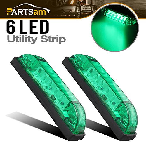 4 Inch Green Led Light