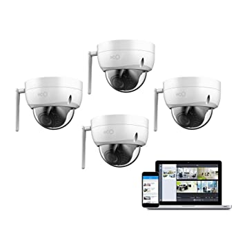 Oco Op-Dome4 Pro Domo Exterior/De Interior 1080P Vigilancia de Nube y Cámara