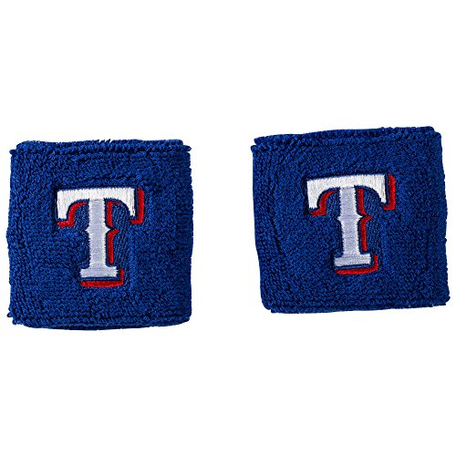 fan products of Franklin Sports MLB Texas Rangers Team Wristbands