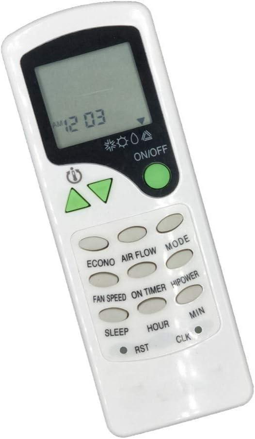 Control Remoto Inteligente para Chigo ZH-LW03 ZH//LW-03 sjlerst Control Remoto del Aire Acondicionado la Distancia del Control Remoto es de m/ás de 8 Metros Resistente al Desgaste y Duradero