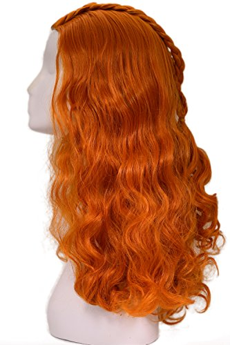 Sansa Stark Wig GoT Cosplay Costume Hair Accessories Halloween Coslive (Game Of Thrones Mens Costumes)