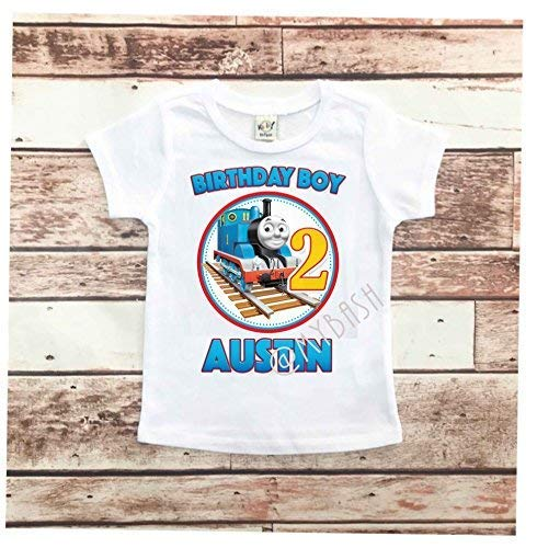 Personalized with name Boy Custom Birthday DIY Iron on T shirt Transfer Decal Chalkboard Birthday Birthday Shirt