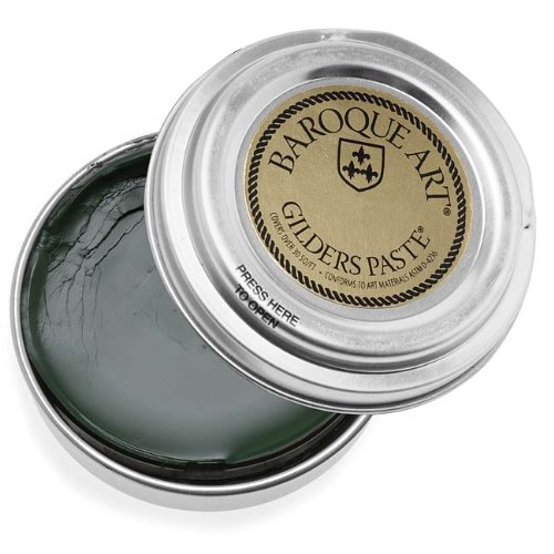 Baroque Art Gilders Paste - Verdigris (Dark Green) - 1 Oz by Baroque Art