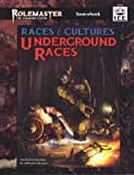 img - for Races & Cultures, Underground Races (Rolemaster Standard System) book / textbook / text book