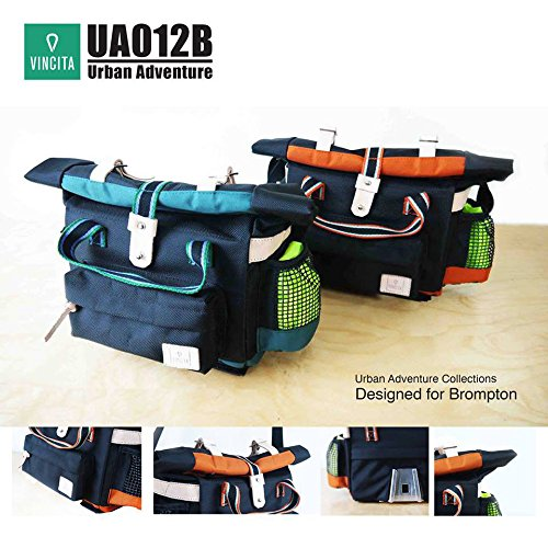 Vincita UA012B Urban Adventure Bag for Brompton