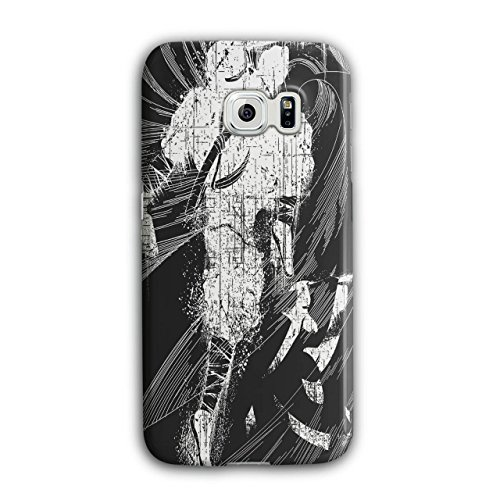[Asian Ninja Warrior Battle Kick NEW Black 3D Samsung Galaxy S6 Edge Case | Wellcoda] (3 Ninjas Kick Back Costume)