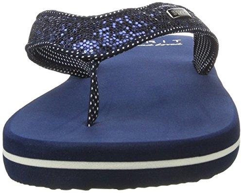 Zuecos Thongs 400 Mujer Navy Glitter para Azul Esprit x5RFqE4wn