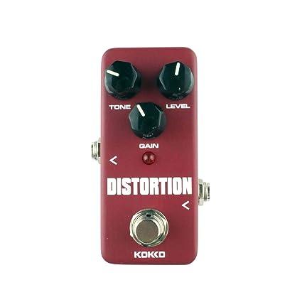 Surenhap Efecto de Guitarra, FDS-2 Distorsión Pedal de Efecto de Guitarra Pedal Ordenador