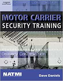 Motor carrier security training student workbook dave for Motor carrier number lookup