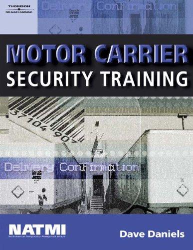 Motor Carrier Security Training: Student Workbook